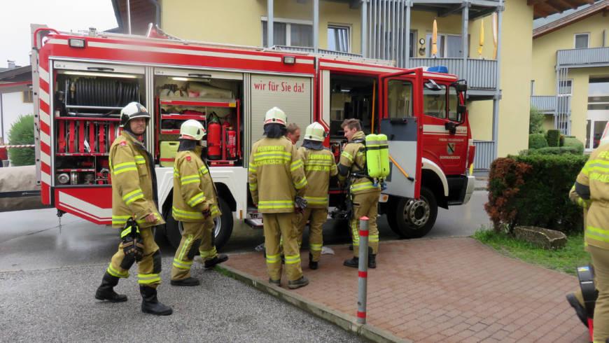 Brandeinsatz Neue Heimat
