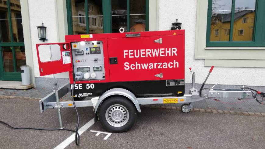 Notstromversorgung Feuerwehrhaus