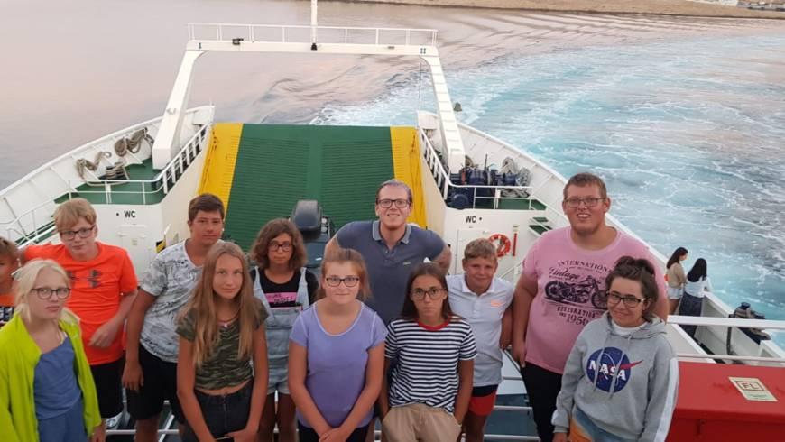 Ausflug auf der Insel Rab
