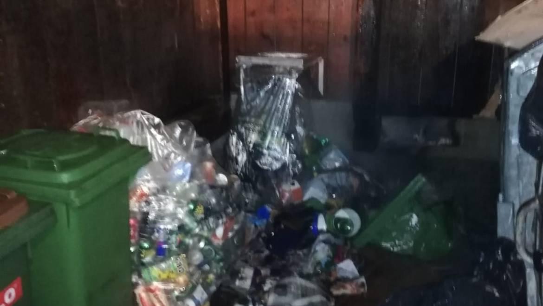 Brand Müllraum