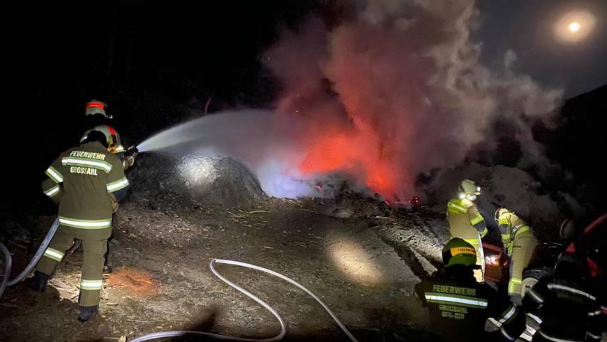 Brand in Großarl