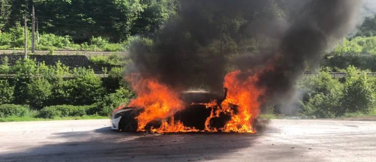Fahrzeugbrand B-311