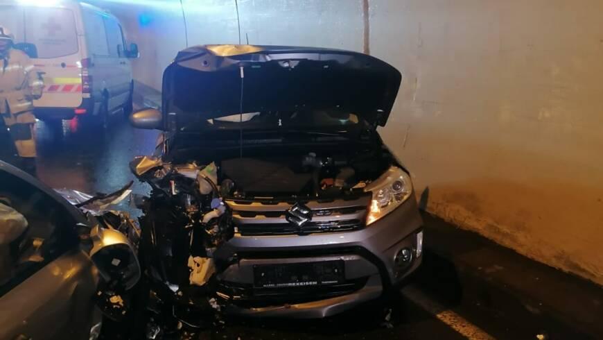 Verkehrsunfall im Mauthtunnel