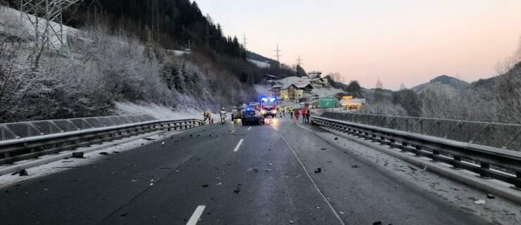 Verkehrsunfall B-311