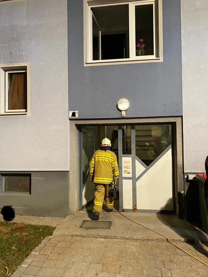 Brandverdacht Schulstraße