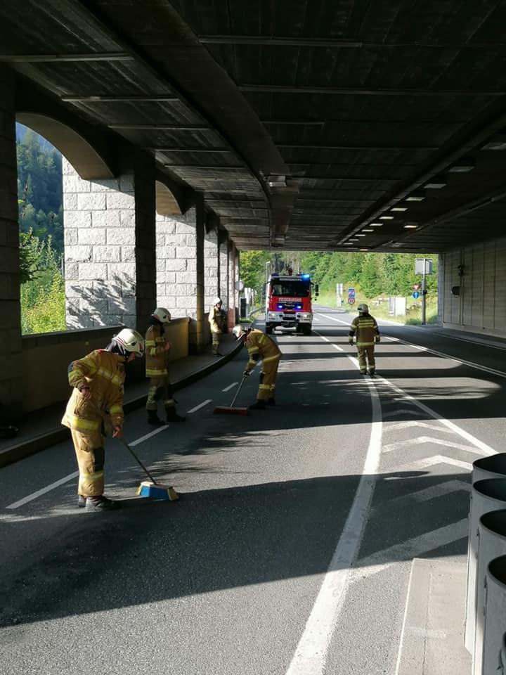 Ölspur B-311 Tunnelportal